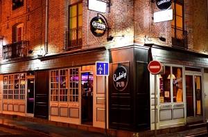 Façade du Cambridge Pub Dieppe Normandie